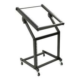 19U Professional DJ Stand Steel Mixer Rack Mount Equipment S