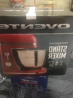 Ovente 3.7 Quart 6-Speed Professional Stand Mixer, 300 Watt,