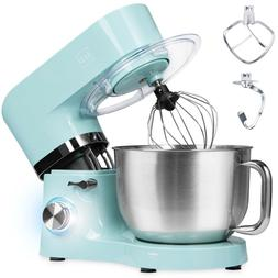 660W 6-Speed 6.3qt Stainless Steel Kitchen Stand Mixer  - Te