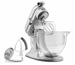 KitchenAid KSM105GBCMC 5-Qt. Tilt-Head Stand Mixer with Glas