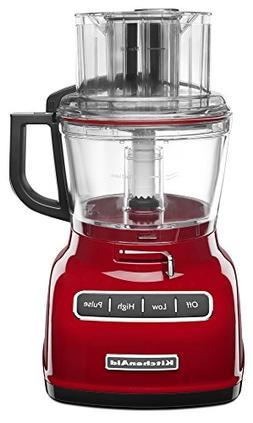 Kitchenaid - 9-cup Food Processor - Empire Red