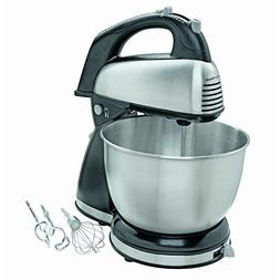 New! Hamilton Beach - 6-speed Classic Hand/stand Mixer - Sta
