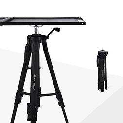 VANKYO Aluminum Tripod Projector Stand, Adjustable Laptop St