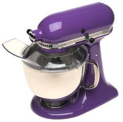 New Kitchenaid Artisan 5 Quart Stand Mixer Ksm150psgp Grape