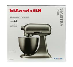 KitchenAid Artisan Mini 3.5 Qt Tilt Head Stand Mixer SILVER