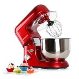 KLARSTEIN Bella • Tilt-Head Stand Mixer • Dough Hook, Fl