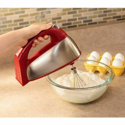 Hamilton Beach Classic Hand/Stand Mixer Red