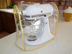 CLEAR MIXER COVER YELLOW trim-fits KitchenAid Tilt-Head 4.5