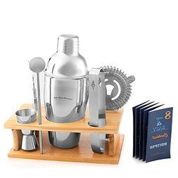 Cocktail Shaker Martini Shaker Set - Bar Accessories : Drink