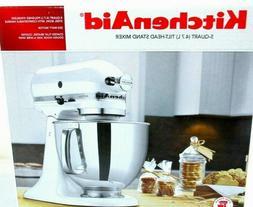 KitchenAid KSM150PS 5 Qt. Artisan Series Stand Mixer baking