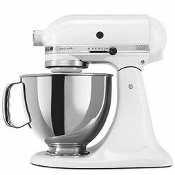 KitchenAid KSM150PSWH Artisan Series 5-Qt. Stand Mixer with