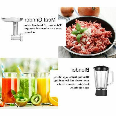 3 In Stand Stainless Grinder Blender