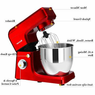 Stand Mixer Stainless Steel Bowl Grinder Blender