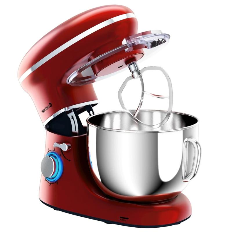 6.3Qt Electric Stand Mixer 6 Speed 660W -