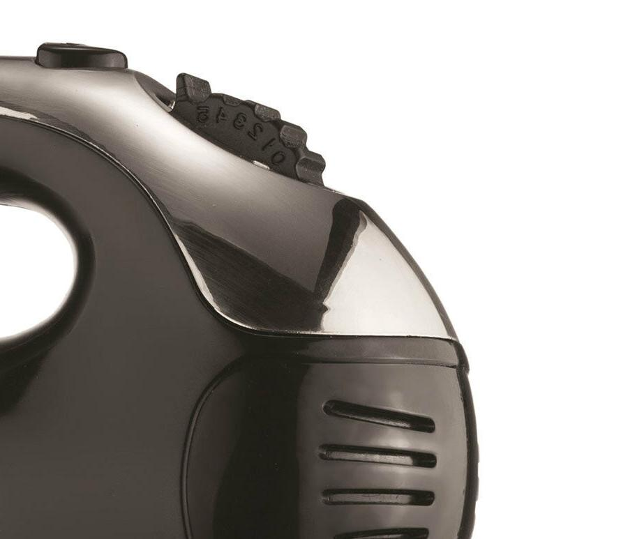 BRAND 5-Speed Turbo Stand Mixer, Black