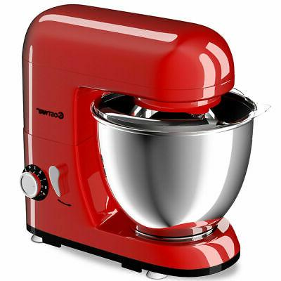 Costway 6-Speed Electric Food Stand Mixer W/4.3Qt Stainless