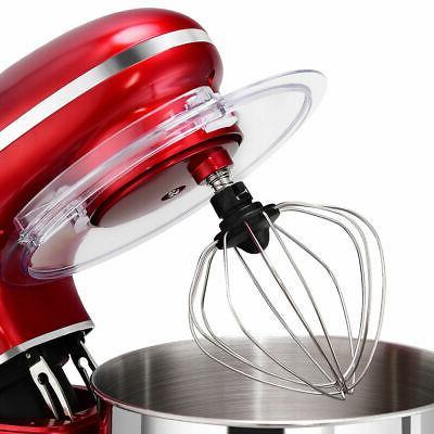 Electric Mixer 6 Speed 6.3 660W Tilt Head Steel