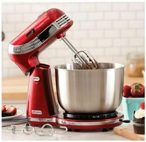 electric stand mixer 6 speed kitchen mix