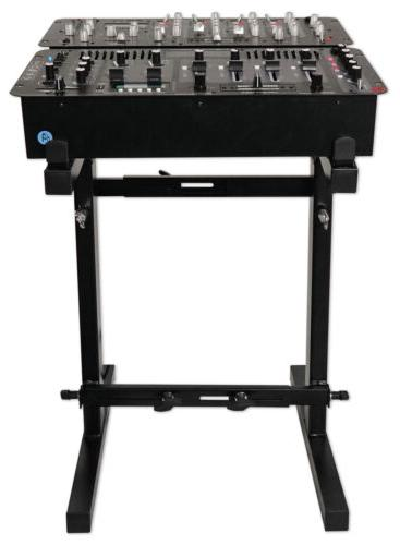 Rockville RXS20 Portable Mixer Stand - Adjustable Height and