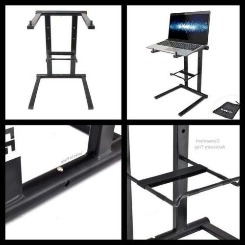 Portable Folding Laptop Stand Computer Standing Table DJ Mix