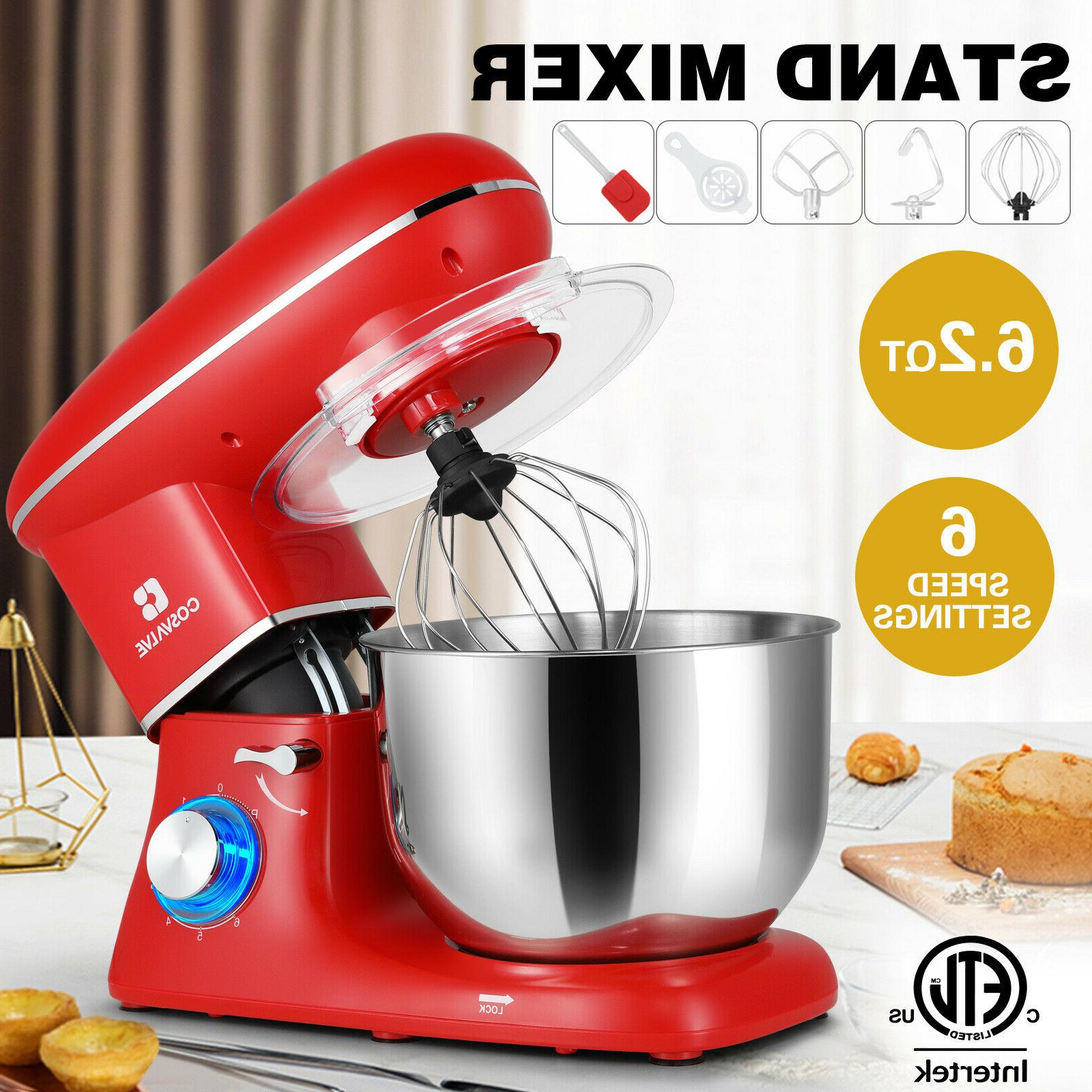 pro electric food stand mixer 6 2
