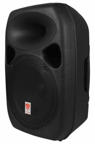 Rockville RPG122K Powered Speakers+Bluetooth+Mic+Stands+Cables+Mixer