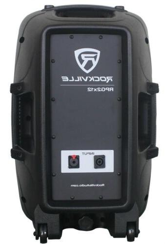 Rockville System Speakers+Stands+Mics+Bluetooth