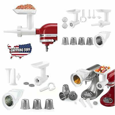 stand mixer attachment slicer food grinder rotor