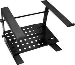 NEW Adjustable DJ Laptop Stand.Concert Platform Gear.Black.T