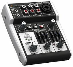 NEW Behringer Xenyx 302USB Audio Interface Premium 5-Input M