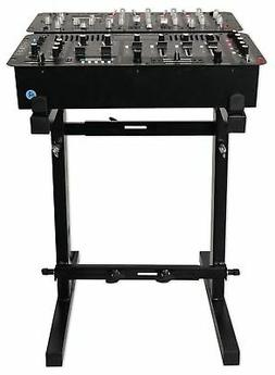 portable mixer stand adjustable height and width