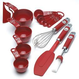 KitchenAid Professional Series Empire Red 5pc Mixing Set