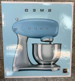 SMEG SMF01SVUS 50s Retro Style Stand Mixer Die-Cast Aluminum