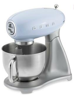 Smeg SMF02RDUS 50s Style Stand Mixer, Blue