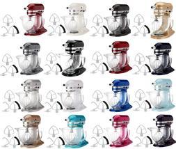 KitchenAid Stand Mixer KSM154GB 5-Qt W/Glass Bowl+Flex Edge