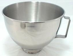 W10802058 - KitchenAid Stand Mixer 4.5QT SS Bowl With Handle