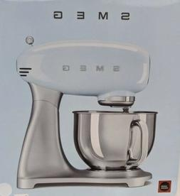 SMEG White 50's Retro Style Stand Mixer SMF01USWH NEW IN BOX